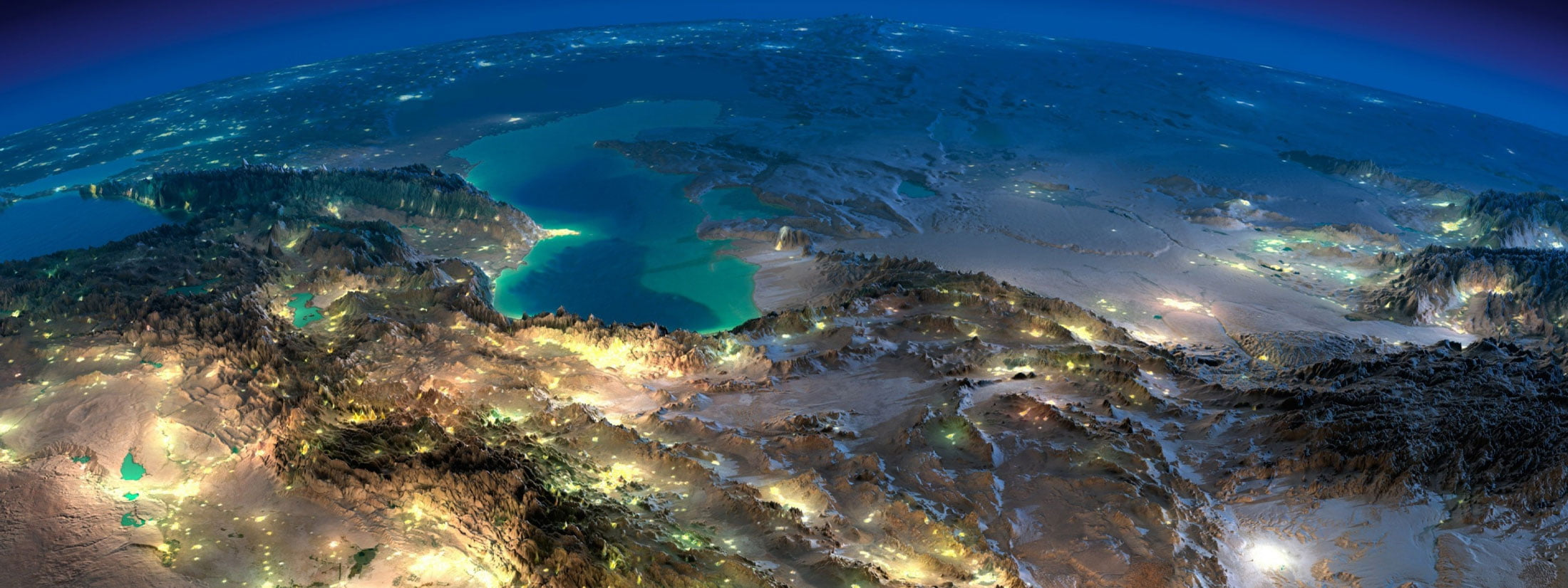 planet-earth-from-above-during-night-with-cities-emitting-light